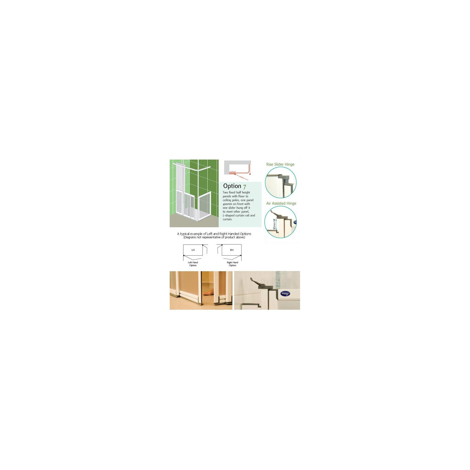 Impey Touch 'N' Go Shower Doors OPTION 7 at Tesco Direct
