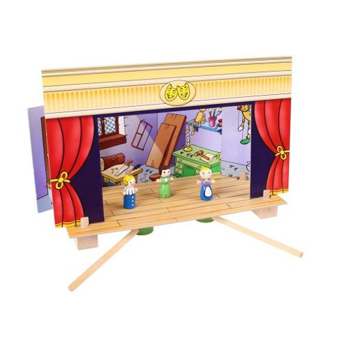 Bigjigs Toys BJ750 Magnetic Theatre