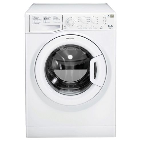 Hotpoint WMYL641P Washing Machine , 6Kg Load, 1400 RPM Spin, Polar
