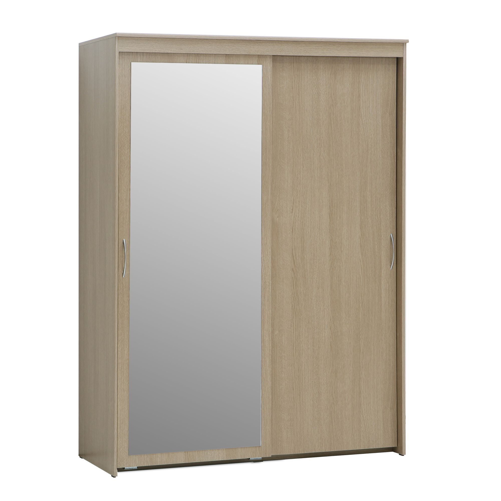Ideal Furniture Onyx Sliding Wardrobe in Yorkshire Oak at Tescos Direct