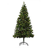 Homegear 6Ft Pre-Lit Artificial Christmas Xmas Tree