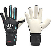 Umbro Neo Pro Shot Gun Cut Goalkeeper Gloves Size - Black