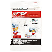EZ-Vac 2 Piece Extra Large Cube Vacuum Storage Bag Set