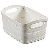 Curver Ribbon Storage Basket, Extra Small
