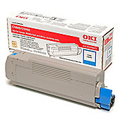 OKI Toner Cartridge for C5800/C5900 Colour Printers (Cyan)