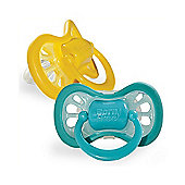 BornFree Cool Flow Pacifier Stage 1 (0-6 months) 2-Pack