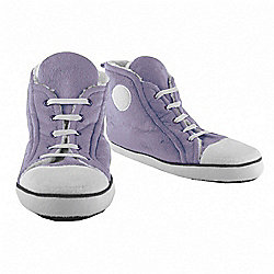 Adult High Top Slippers Purple