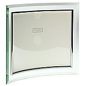 Addison Ross Glass Photo Frame Curved Landscape Frame - 4 in x 6 in