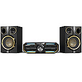 Philips FX25/12 Mini Hi-Fi System with Bluetooth and NFC (300 W RMS/USB/MP3/MAX Sound) - Black