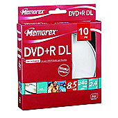 Maplin DVD+R DL 8.5 GB Cake 10 Pack