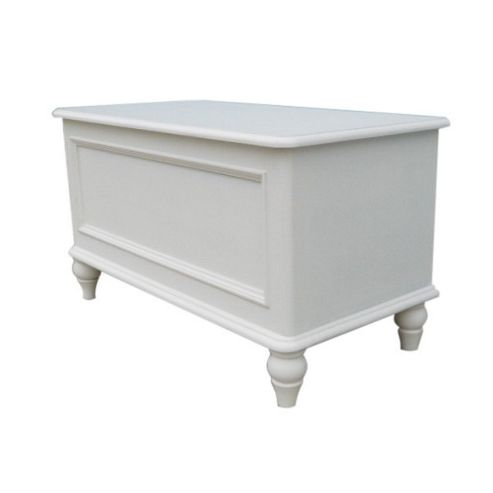 Thorndon Brittany Blanket Box in Antique White