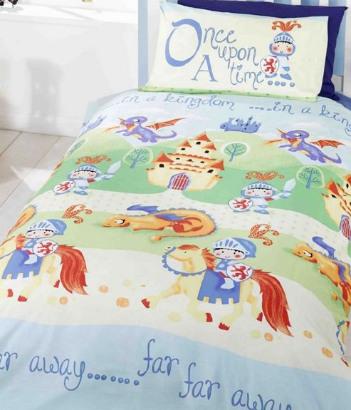 Buy Knights And Dragons Toddler Bed Linen From Our Kids