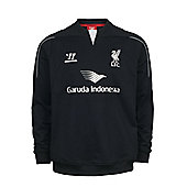 2014-15 Liverpool Warrior Sweat Top (Black)