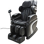 Homcom Luxury Reclining Leather Massage Chair Automatic Zero Gravity Multifunctional Full Body