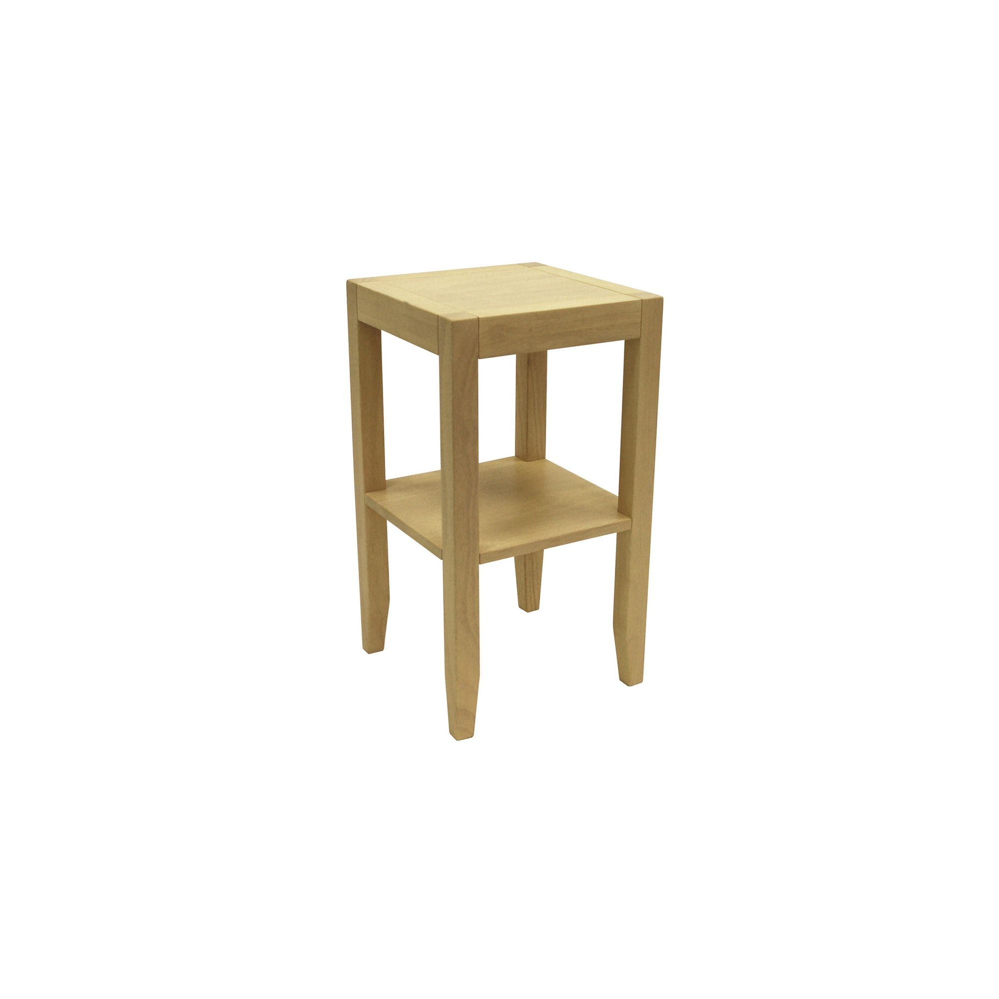 Techstyle Solid Wood End / Telephone Table - Natural