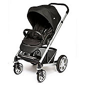 Joie Chrome Plus Pushchair Silver Chassis (includes Black Seat Unit)