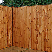 5FT Professional Vertical Feather Edge Fencing (Flat Top) - 1 Panel Only 5'
