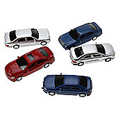1:100 Painted Cars (5pk)