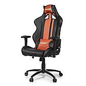 AK Racing Rush Gaming Chair Brown The new Rush series is a great looking new chair High-quality PU leather and a stripe design with fantastic style