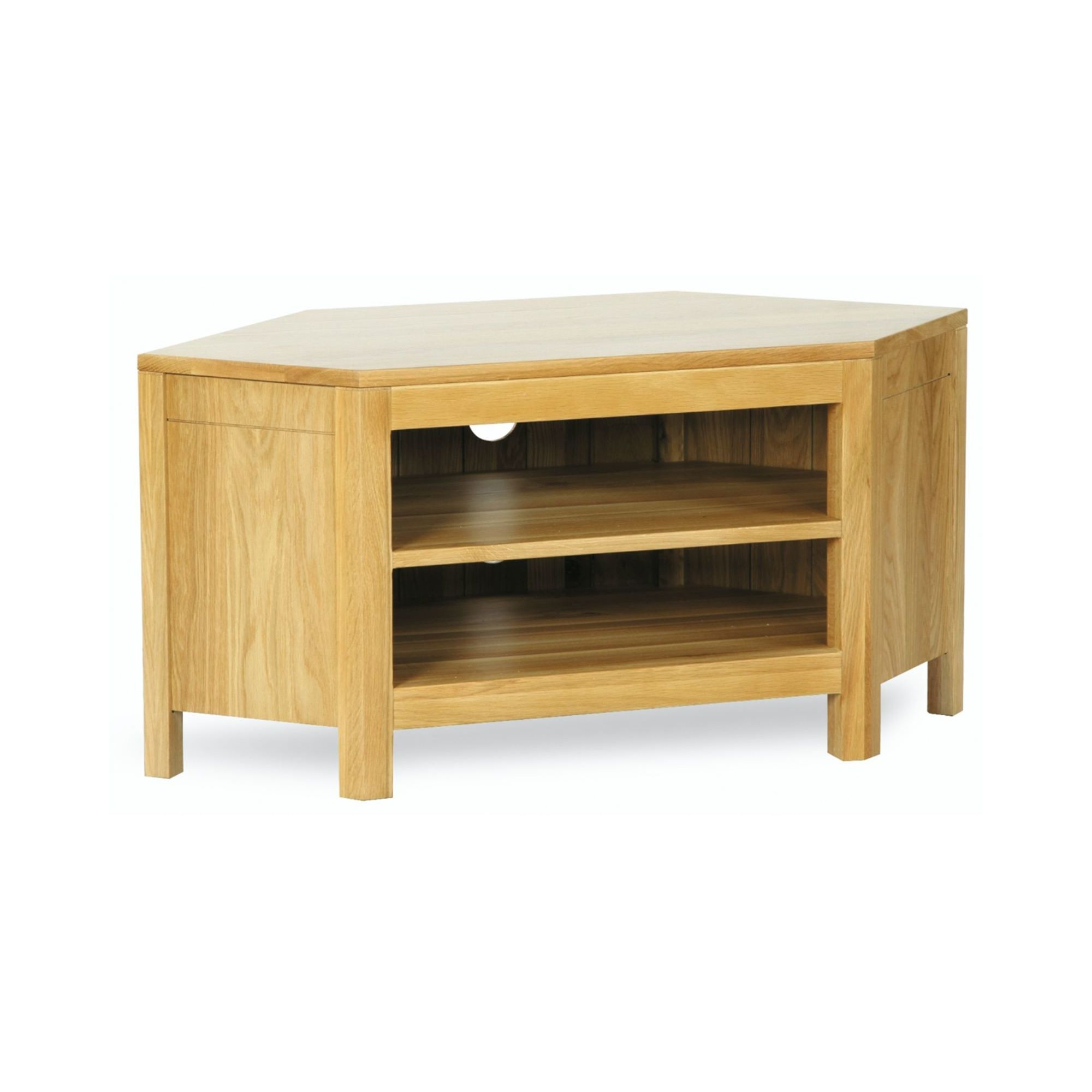 Kelburn Furniture Milano Oak Corner TV Stand at Tesco Direct