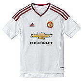 adidas Manchester United Away Jersey 15/16 - White