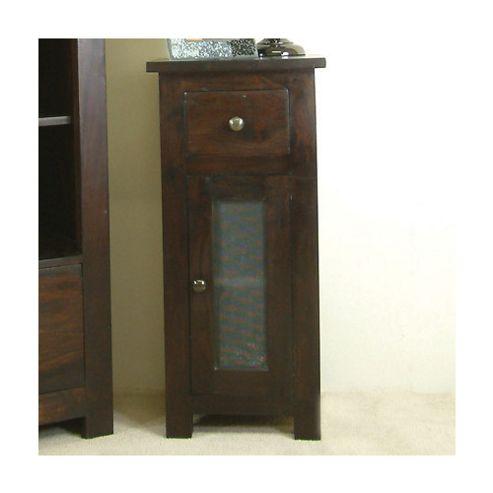 Baumhaus Kudos Glazed One Drawer Cabinet