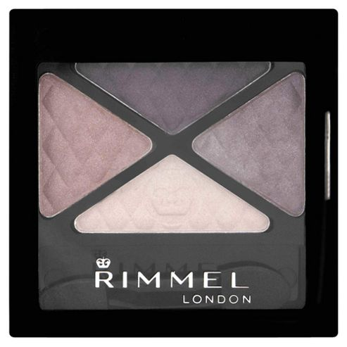 Rimmel Glam'Eyes Quad Eyeshadow Smokey Purple