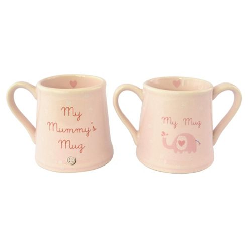 New Baby & Mummy Mug Set