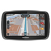 "TomTom GO 500 5"" Sat Nav with Lifetime UK Maps & Lifetime Traffic updates"