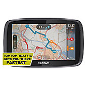 "TomTom Go 500 Sat Nav 5"" Screen with UK and Ireland Maps"