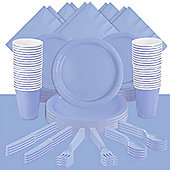 Powder Baby Blue Party Pack For 60