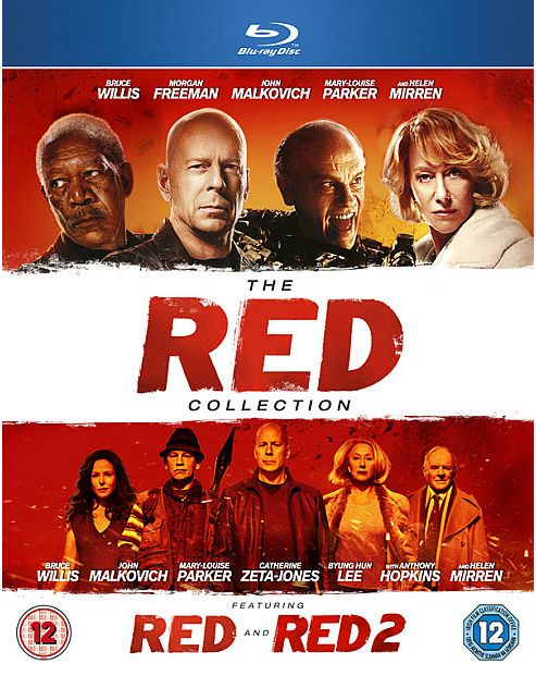 Red 1 & 2 - Blu-Ray