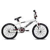 "11"" Rooster Attitude, 20"" Wheel, White/Red"