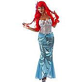 Adult Mermaid Fancy Dress Costume Small