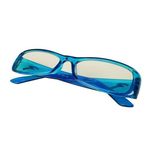 Blue Glasses +3.5