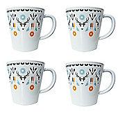 Whitbourne Melamine Mug (Pack of 4)
