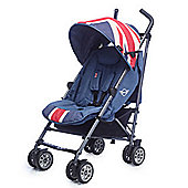 Easywalker MINI Buggy Union Jack Vintage UK - Including Raincover and Footmuff