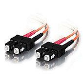 Cables to Go 15 m SC/SC Duplex 50/125 Multimode Fibre Patch Cable