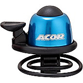 Acor Alloy Mini Bicycle Bell, Blue