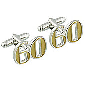 60th Birthday Cufflinks