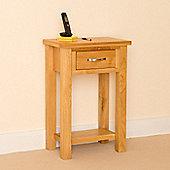 Newlyn Telephone Table - Light Oak
