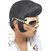 Official Elvis Headpiece with Rubber Shades