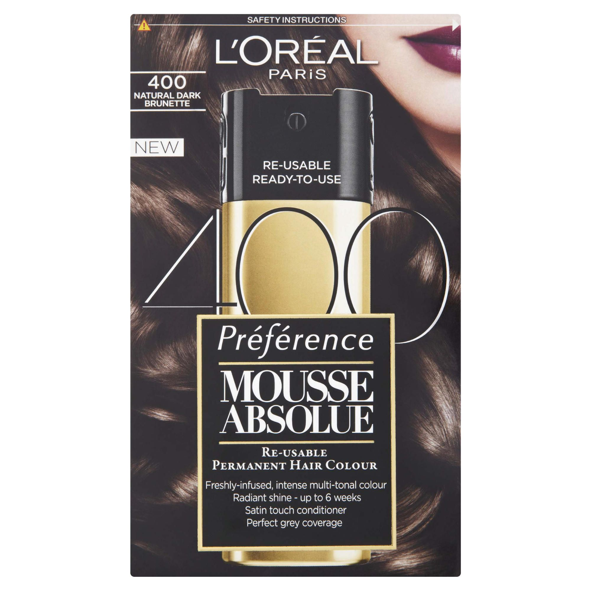 L'Oreal Mousse Absolue Natural Dark Brunette 400