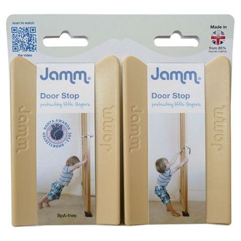 Jamm Door Stop, Twin Pack,  Beige