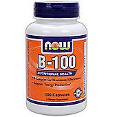 Now Vitamin B-100 100 Capsules