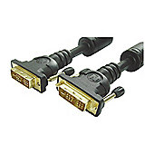 DVI-I Analogue And Digital AV PC Monitor Cable Lead 3M