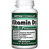 Jarrow Vitamin D3 1000Iu 100 Softgels