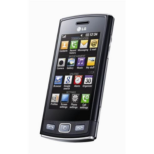 SIM Free Unlocked LG Viewty Snap Black