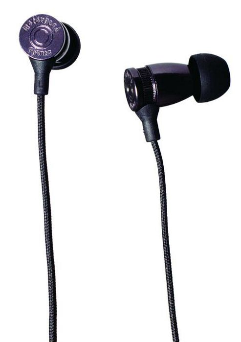 MotorHeadphones Trigger Earphones - Black