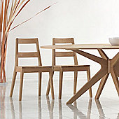 Home Zone Malmo Dining Chair (Set of 2)